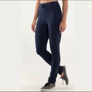 Lululemon Skinny Will leggings Navy size 6